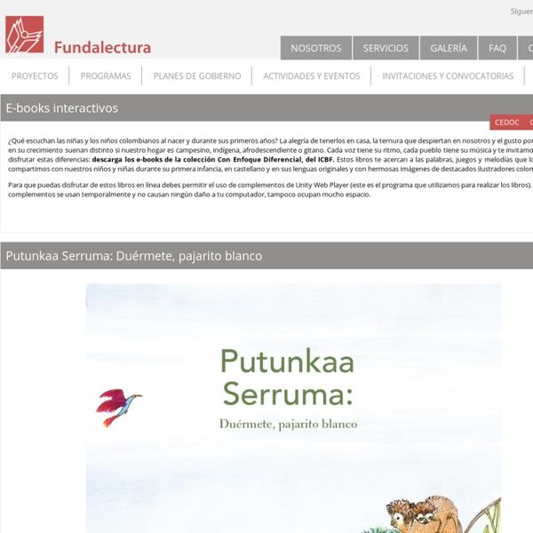 Libros digitales ICBF Fundalectura