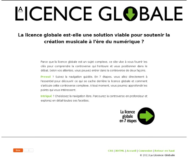 Licence Globale