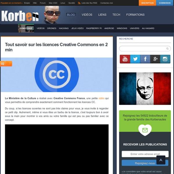 Tout savoir sur les licences Creative Commons en 2 min