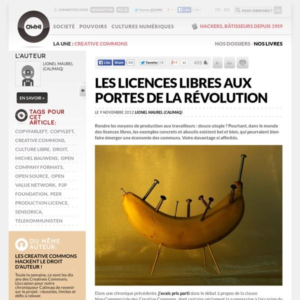 Les licences libres aux portes de la révolution