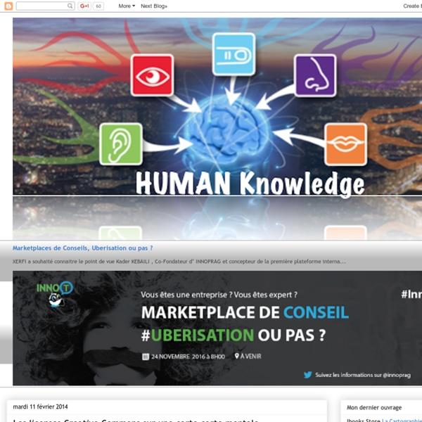 Les licenses Creative Commons sur une carte carte mentale