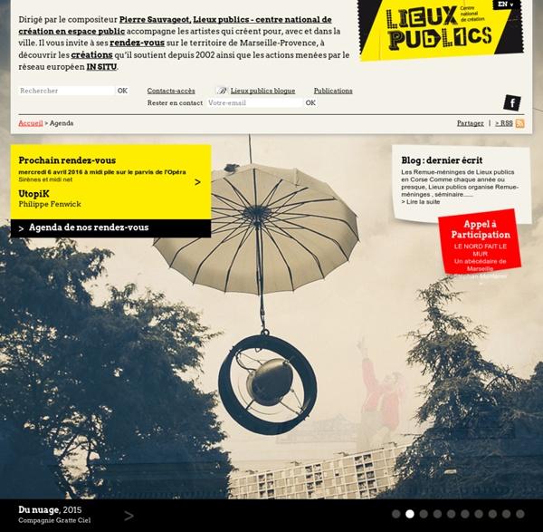 Lieux publics : Centre national de création des arts de la rue