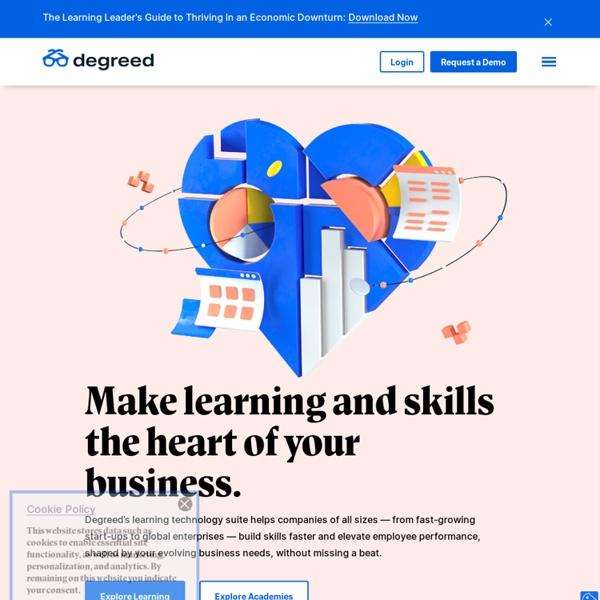 Degreed - The Digital Lifelong Diploma