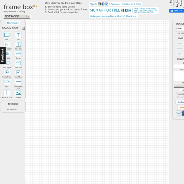 Frame Box - Lightweight online tool for creating mockups