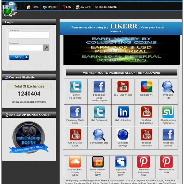 Likker - Grow Your Social Network