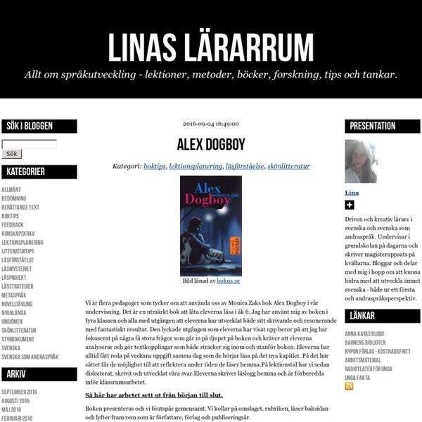 Linas lärarrum - Alex Dogboy
