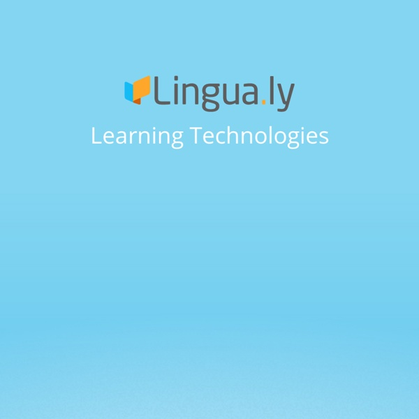 A brand new way to learn a language