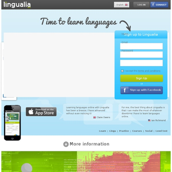 Lingualia - Time to Learn Languages – Online languages