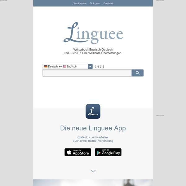 Wörterbuch Englisch-Deutsch
