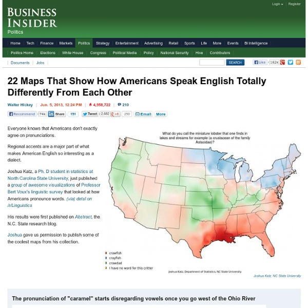 22 Maps That Show The Deepest Linguistic Conflicts In America