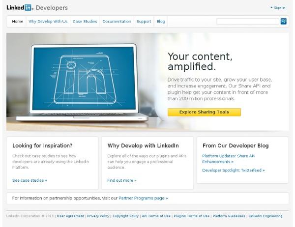 LinkedIn APIs