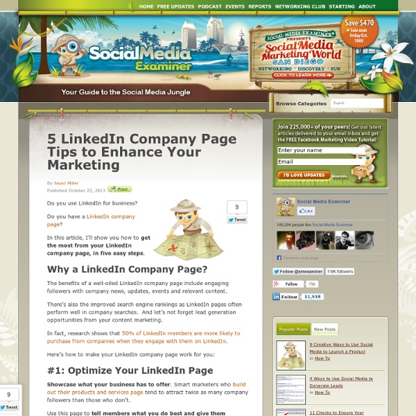 5 LinkedIn Company Page Tips to Enhance Your Marketing