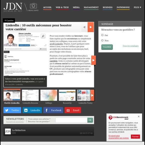 LinkedIn : 10 outils méconnus pour booster votre carrière : LinkedIn: 10 outils méconnus pour booster votre carrière