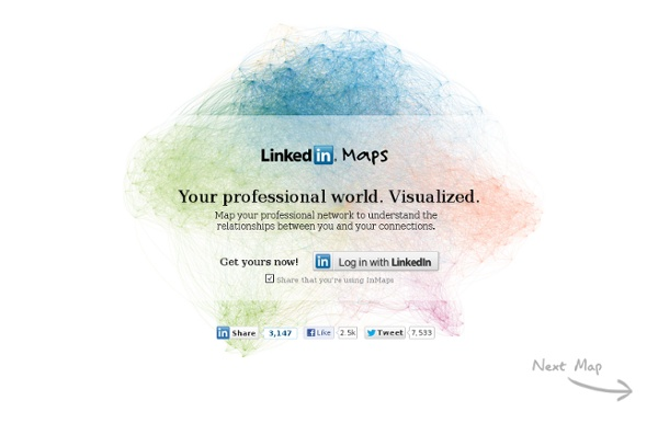 InMaps - Visualize your LinkedIn network