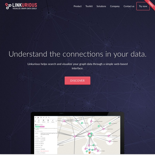 Linkurious. See Graph Databases Easily - Linkurious helps you to visualize your graph database through a simple web-based interface.