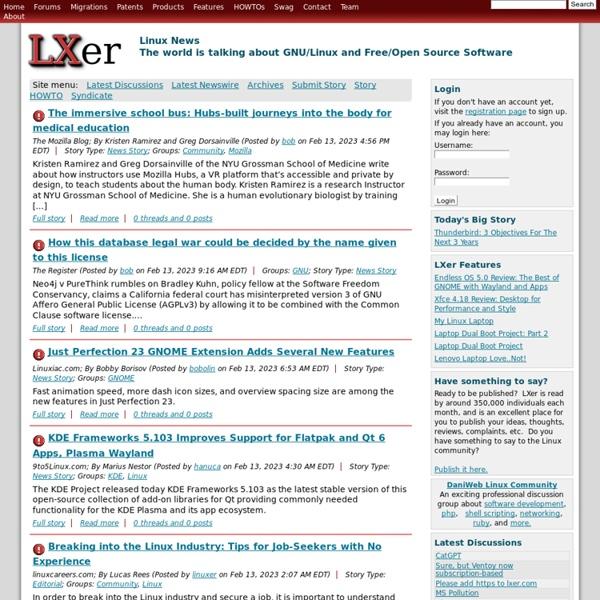 LXer: Linux News