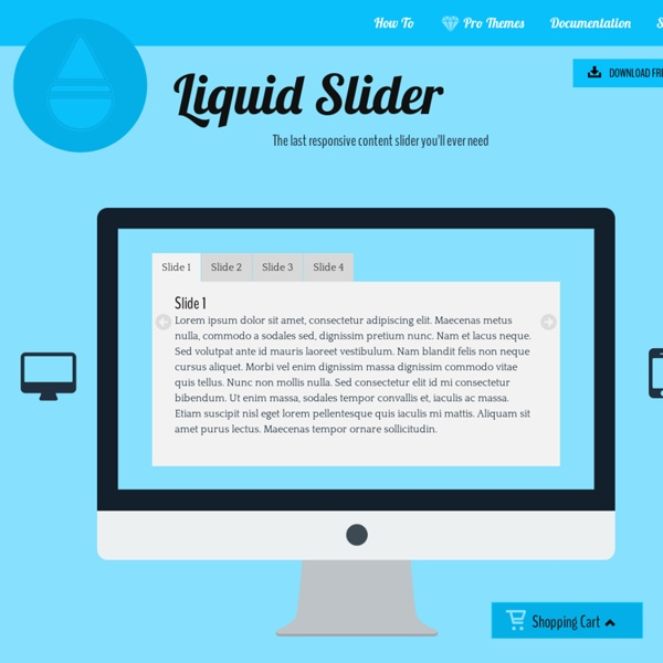 The last responsive content slider you'll ever need