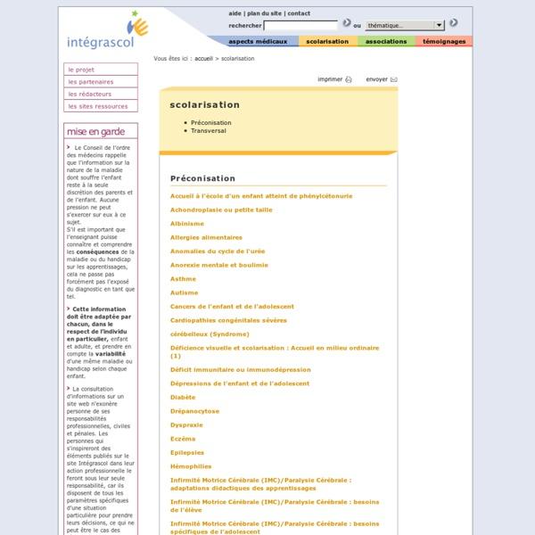 Liste des documents pour scolarisation