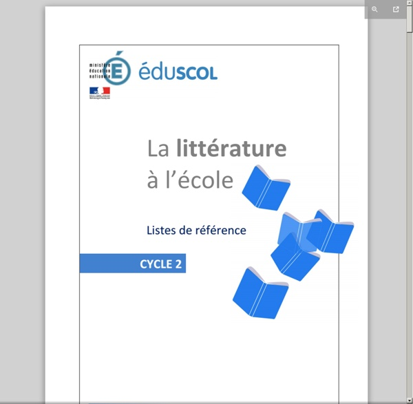 Liste officielle EDUSCOL