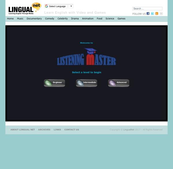 Listening Master - LingualNet
