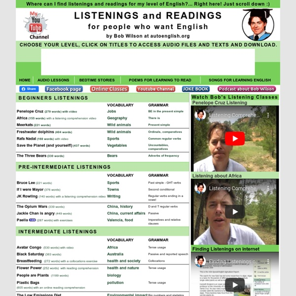 Listening and Reading
