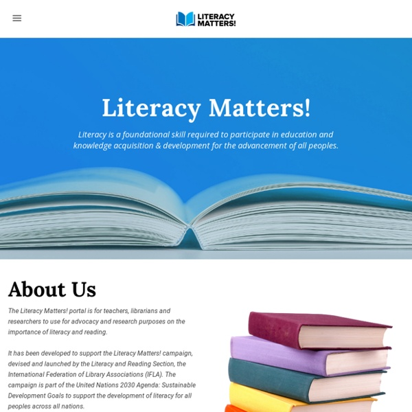 Literacy Matters! - Home