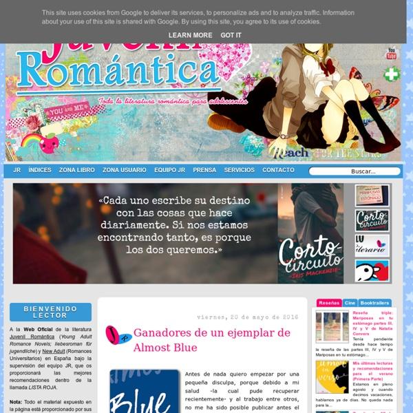 Toda la literatura romántica para adolescentes. Young Adult Romance y New Adult