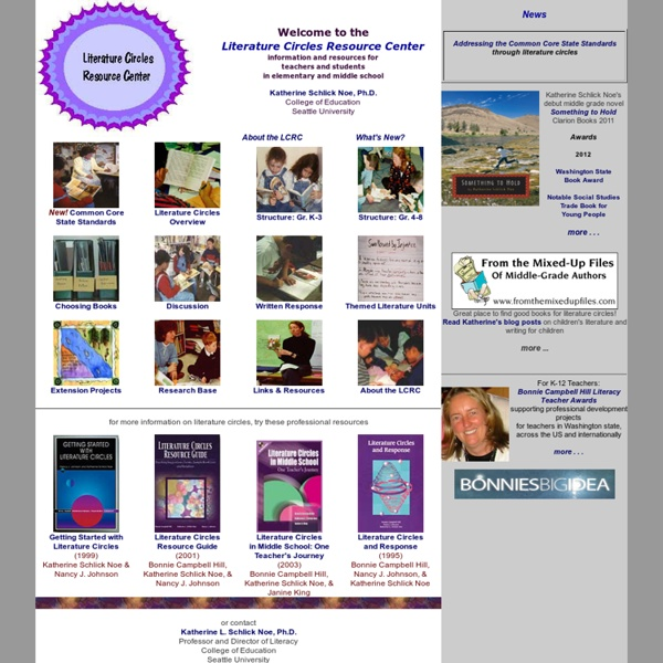 Literature Circles Resource Center