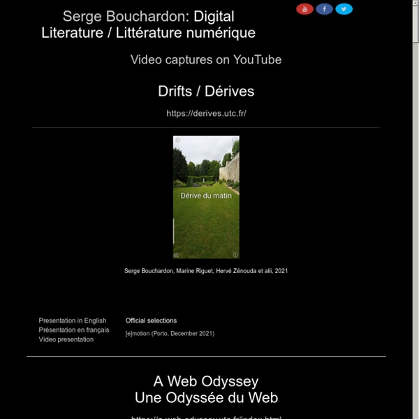 Digital Literature (Serge Bouchardon)