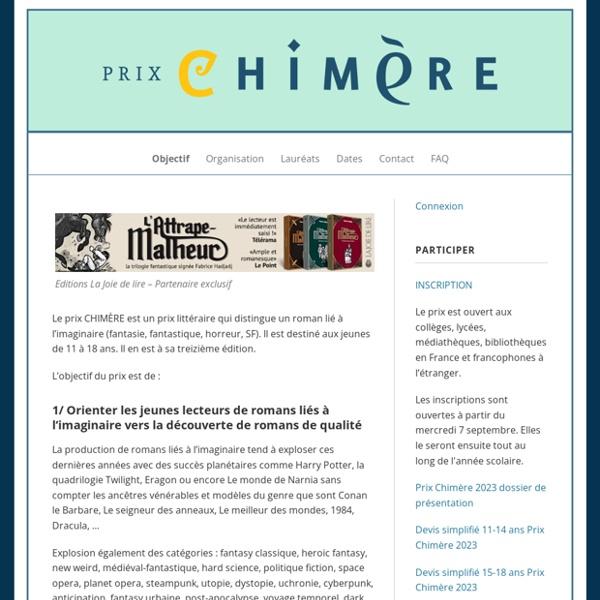Prix Chimère - SFFF