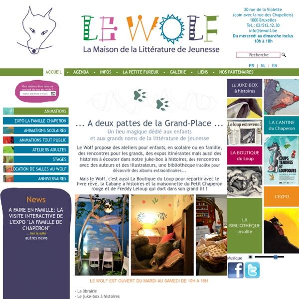 Maison de la littérature de jeunesse - animations scolaires, stages à Bruxelles