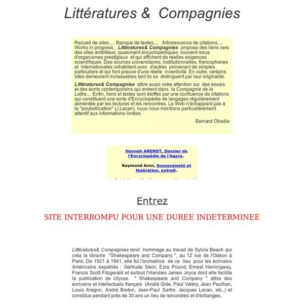 Littérature & Compagnies