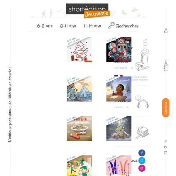 Littérature jeunesse en ligne pour les 8 - 12 ans - Short Édition