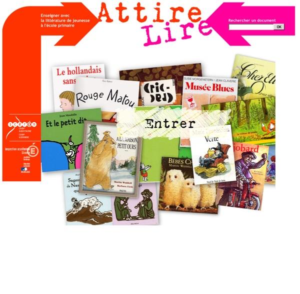 Recueil d'ouvrages de littérature de jeunesse par cycles et niveaux