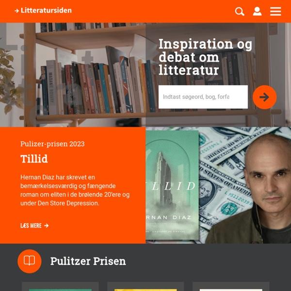 Litteratursiden.dk - forside