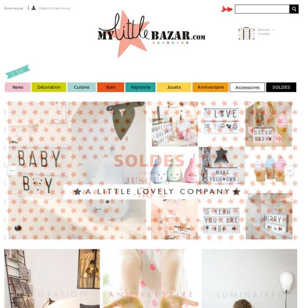 My Little Bazar décoration et objets pour chambre enfant - My Little Bazar décoration pour chambre enfant