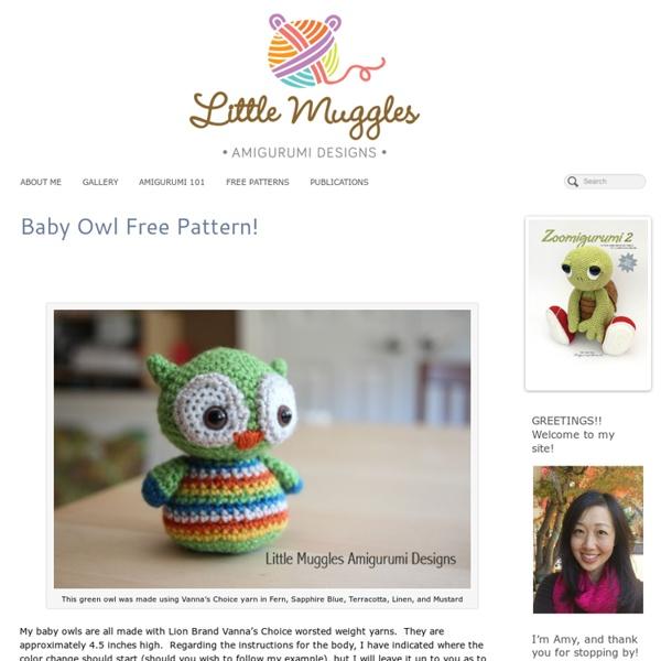 Baby Owl Free Pattern!
