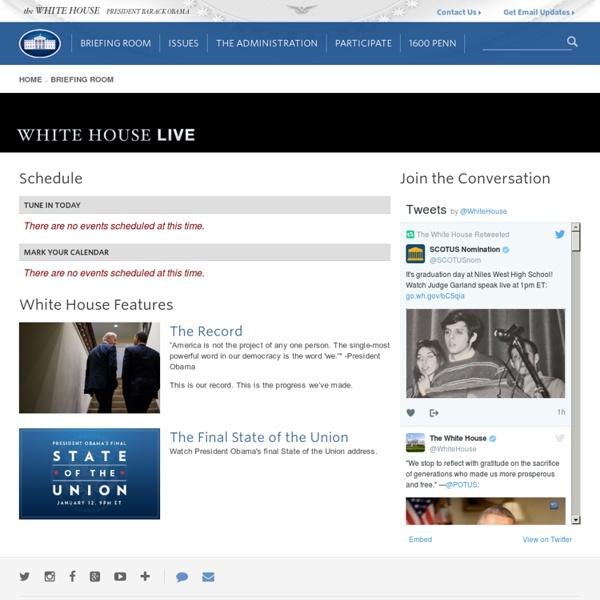 President Obama Speaks at the Installation of FBI Director James Comey