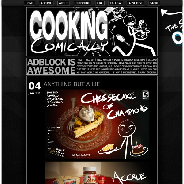 Now youre cooking with comics.