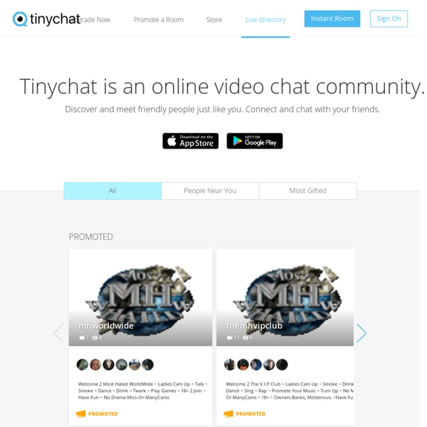 live video chat rooms simple and easy tinychat | ulzzang.id