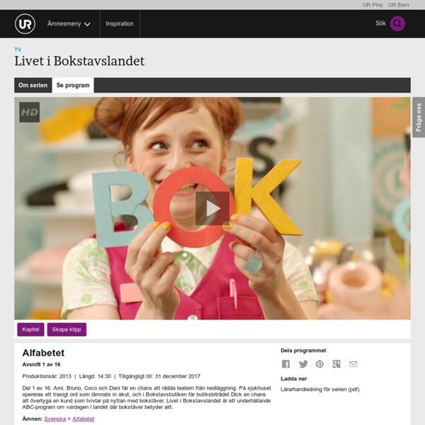 Livet i Bokstavslandet: Alfabetet