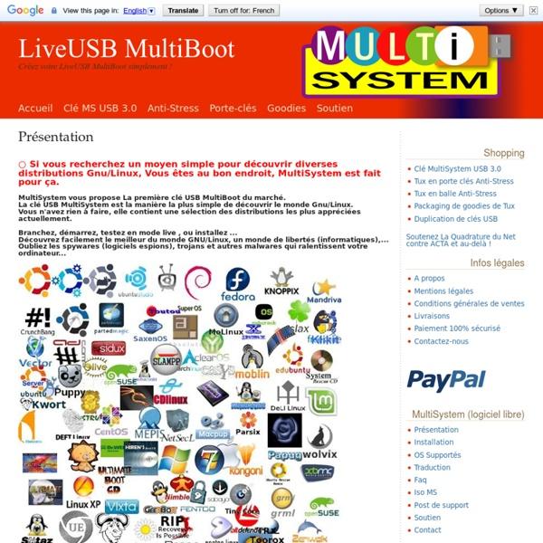 MultiSystem, LiveUSB MultiBoot.
