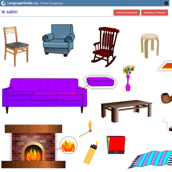 French: Vocabulary Guide: The Den