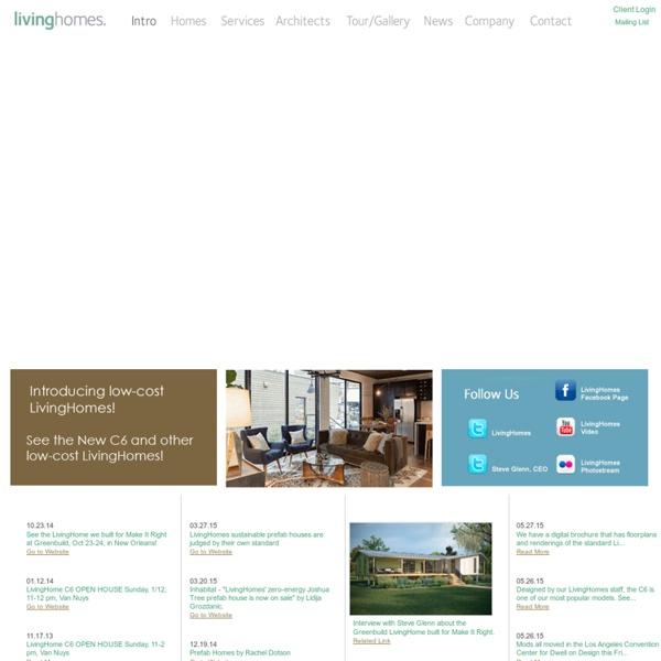 LivingHomes - Modern Modular Prefab Homes