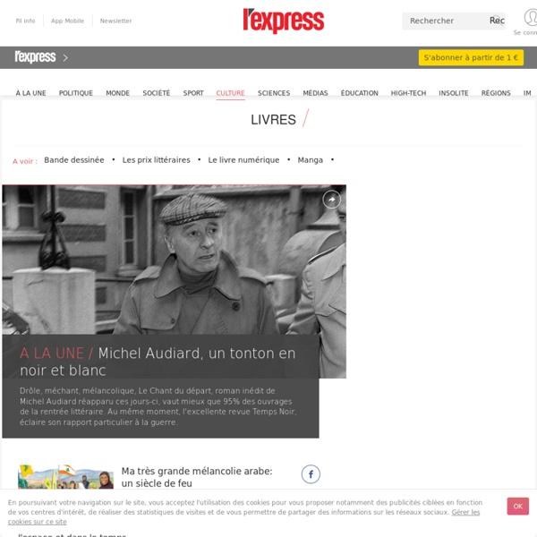 Livre avec Lire: - LExpress.fr/Culture