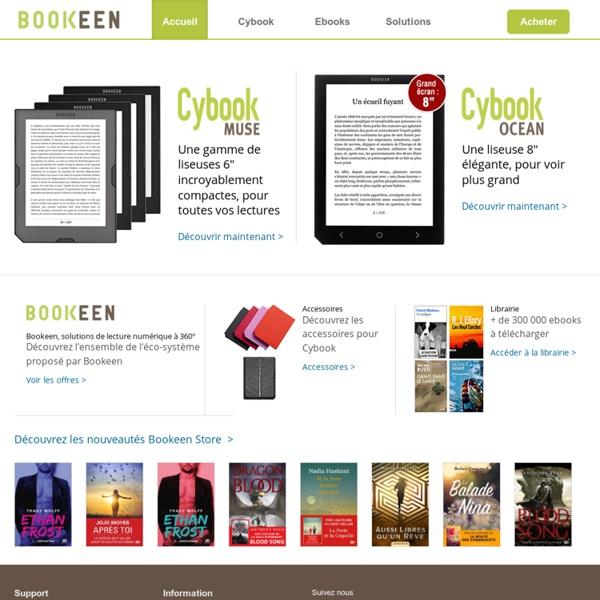 Livre électronique Cybook