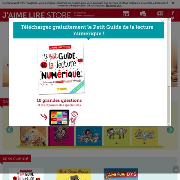 Application J'aime lire Store, application lecture pour enfants, lecture en ligne enfant