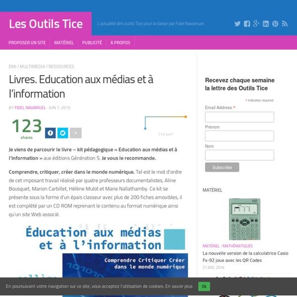 Livres. Education aux médias et à l'information