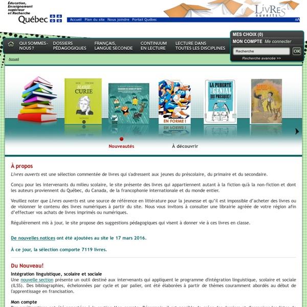 Www.livresouverts.qc.ca