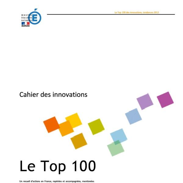 Cahier des innovations - pdf
